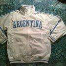 Argentina Track Jacket White Long sleeve track jacket Soccer Jacket L-3X