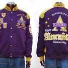 Alcorn State University Jacket Alcorn State Race Jacket Coat ASU Jacket  L-5X