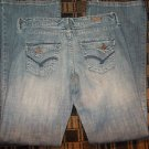 Vanity blue denim jean pante Blue jean pants Flap pocket blue denim jean W32X35L