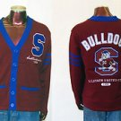 South Carolina State Bulldogs long sleeve sweater Bulldogs Cardigan sweater M-4X