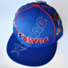 SWAC Southwest Athletic Conference blue red baseball cap hat ADJUSTABLE FIT NWT