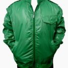 Mens Green long sleeve track jacket by MECCA Green military inspired Jacket