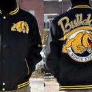 Mens Bowie State University long sleeve jacket Letterman Coat S-4X Bulldogs