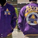 Mens Alcorn State University long sleeve jacket Letterman Coat S-4X