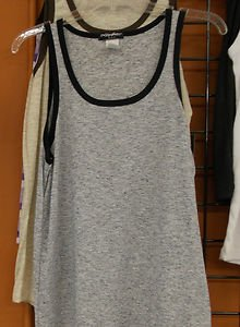 Black Tank Top Shirt  Fashion Black light weight tank top shirt Wife beater S-2X