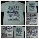 Vintage BRONX MOTO CLUB Raceway short sleeve T shirt Tan Automobile T shirt L