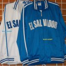 El Salvador Track Jacket Royal Blue El Salvador long sleeve track jacket XS-3XL