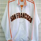 San Francisco Track Jacket White San Francisco Long Sleeve track jacket XS-3XL