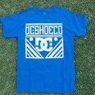 DC SHOE CO. DC SHOE BLUE short sleeve skater T shirt  DC SHOE BLUE T- Shirt S