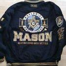 Masonic Mason Freemasonry Jacket Masonic Order Mason Letterman Jacket 3X