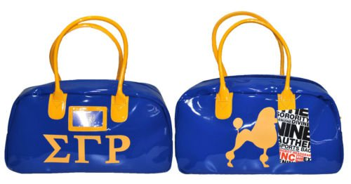 SIGMA GAMMA RHO BLUE GYM BAG DUFFEL GYM BAG TOTE YOGA SPORTS SORORITY GYM BAG