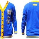 Sigma Gamma Rho Blue Gold Light Cardigan sweater Sigma Gamma Rho sweater S-3X
