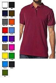 Burgundy polo shirt by Pro Club short sleeve polo shirt PRO CLUB PIQUE POLO S-3X