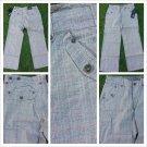 Men's Khaki Brown Plaid Pants Mens Brown Plaid Casual Dress Pants 40WX34L