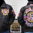 Negro League leather jacket coat Mens leather Negro League jacket Vintage M-4X
