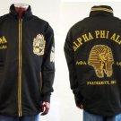 Alpha Phi Alpha Long Sleeve Windbreaker Jacket Alpha Phi Alpha Line Jacket 3X-4X