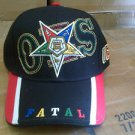 Order of the Eastern Star Red Baseball Cap Order of Eastern Star F.A.T.A.L CAP