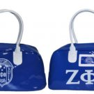 ZETA PHI BETA BLUE GYM BAG DUFFEL GYM BAG TOTE YOGA SPORTS SORORITY GYM BAG