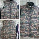 PRO CLUB Army Green Camouflage Sleeveless Vest Jacket Mens Camouflage Vest S-7X