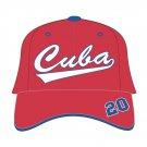 CUBA Cuba Latin Legacy Negro League Baseball cap hat Cuba baseball Hat Cap ADJ
