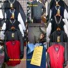 Black Wool Varsity Jacket Wool Leather Long Sleeve Letterman Jacket Coat