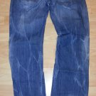 SYN Light Distressed Blue Denim jean pants BLUE DENIM JEAN PANTS 34WX32L
