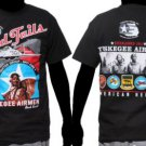 Tuskegee Airmen T shirt  Tuskegee Airman short sleeve T-shirt Red Tails tee M-5X