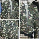 camouflage Up Hooded Sweatshirts PRO CLUB Adult Zip Up Hoodie Hoody sweater S-7X