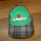 Guinness Green Gray Shamrock Baseball Cap Hat Adjustable Cap Guinness Beer Cap