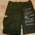 Boys olive green cargo shorts American Living Kids Army Green cargo shorts 18