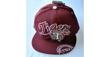 Texas Southern University Snapback Baseball Cap Hat Texas Southern Tigers