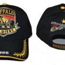 Buffalo Soldiers black baseball Cap Buffalo Soldier Baseball Hat Cap NWT