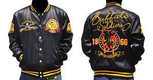 United States Army Buffalo Solider Jacket 1866 Buffalo Solider Satin Coat M-4X