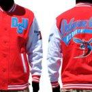 Delaware State University Fleece Varsity Jacket HBCU College Letterman Coat S-4