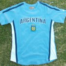 Argentina Blue short sleeve Soccer Jersey Futbol Soccer Jersey Soccer Tee S-XL