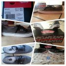 VANS SKATEBOARDING GRAY VANS DOREN GRAY LOW TOP SKATER SHOES SIZE 10.5