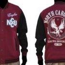North Carolina Central State Varsity Jacket HBCU College Letterman Coat S-4