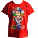 ORDER OF EASTERN STAR short sleeve T shirt OES RED SHORT SLEEVE T-SHIRT S-3XL
