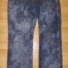 ARMANI EXCHANGE BLUE DENIM JEAN PANTS BLUE BLEACH WASH DENIM JEAN PANTS 30Wx29L