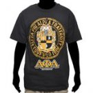 Alpha Phi Alpha Black short sleeve T-Shirt Vintage style Fraternity T shirt M-5X