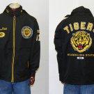 Grambling State University black long sleeve windbreaker jacket GSU Tigers M-4X