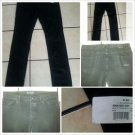 Monarchy black denim denim skinny  jean pants Mens black skinny Jeans W34X34L