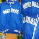 Honduras Blue Soccer Track Jacket Honduras long sleeve soccer track jacket M-3X