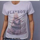 Short sleeve gray t shirt by Playboy Olson short sleeve t-shirt Short sleeve Tee
