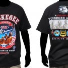 Tuskegee Airmen US AIR FORCE short sleeve T-shirt 332 RED TAILS AIRMAN TEE M-5