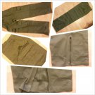 Army Olive Green Cargo Pants Adult Army Green Cargo Pants bottoms 36Wx34L NWOT