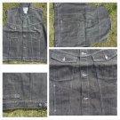 Dark Gray sleeveless denim vest Sleeveless Denim Jean Vest jacket XL-3X