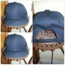 Black Snap back Baseball Hat  Unisex Black Snap back  baseball Cap
