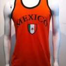 MEXICO Tank Top Mens Soccer Tank top shirt Red Mexico Soccer Tank top S-2X #1