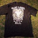 Blac Label Black short sleeve T shirt Short Sleeve T Shirt Black Label Tee L